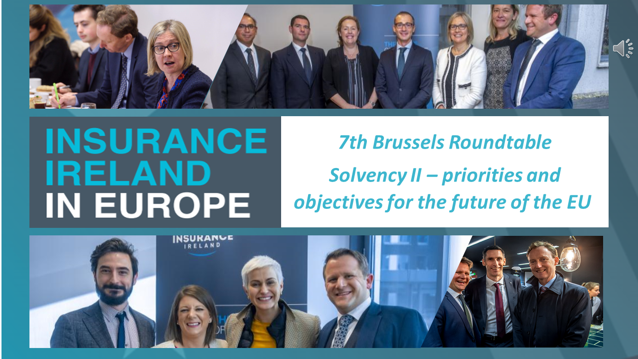 Insurance Ireland hosts 7th Brussels Roundtable